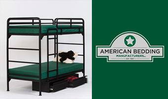American Bedding Mattress in Bunk Bed Set