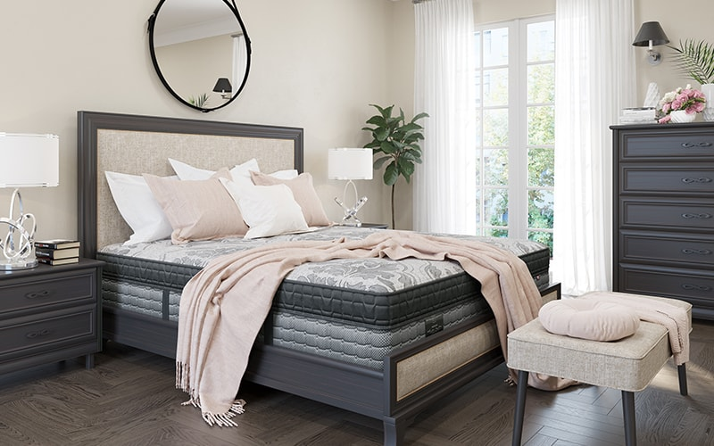 Chittenden and Eastmand Mattress in Bedroom Setting