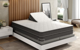 Instant Comfort Ultra Plush Comfort Q9 mattress in Bedroom Setting