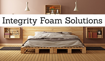 Integrity Foam Solutions Mattress In Wooden Bedroom Setting