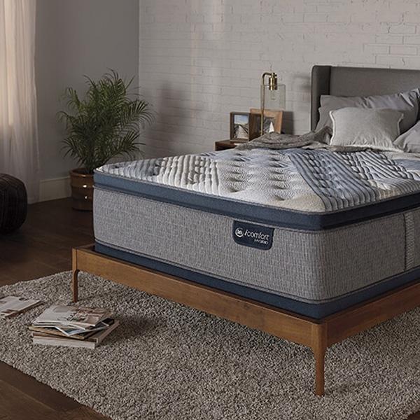 Serta Icomfort Blue Fusion 300 Plush Pillowtop Mattress