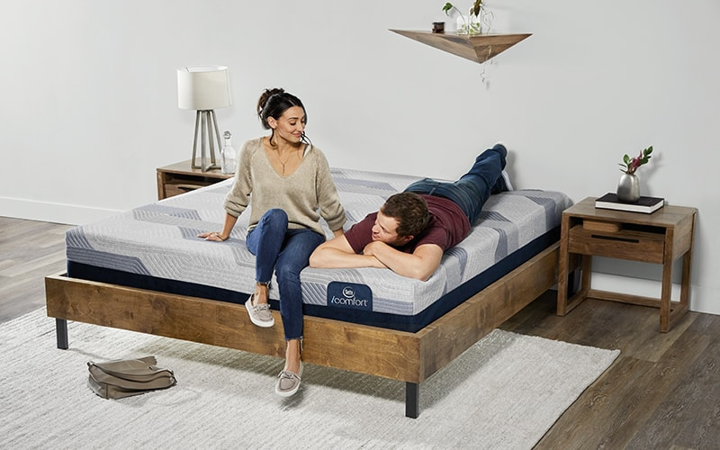 Couple Enjoying the Serta iComfort Mattress