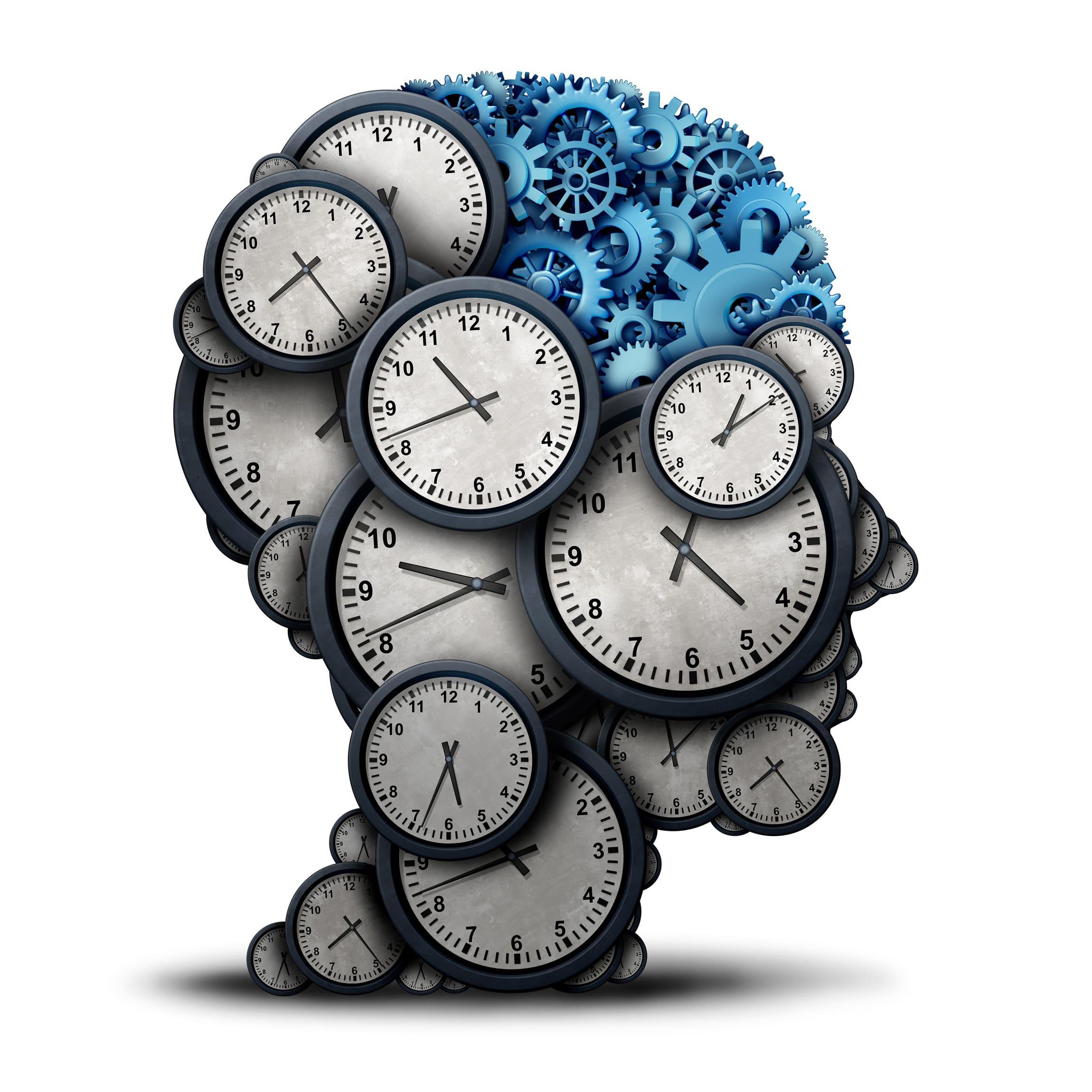 Clock head Illustration