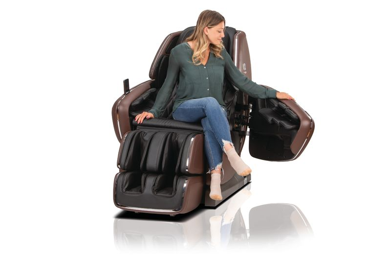 Woman sitting in OHCO MDX chair