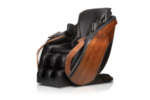 Cirrus DCore Black and Wood Panel massage chair