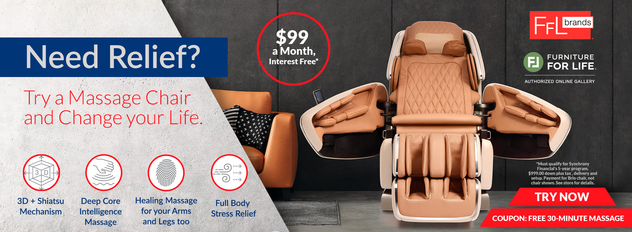 Need Relief Massage 99 promo